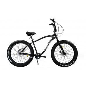 Bicicleta Fatbike unisex Pegas Cutezator EV 3 viteze 2017 Negru Stelar
