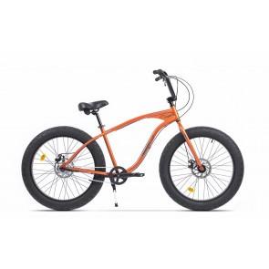 Bicicleta Fatbike unisex Pegas Cutezator EV 3 viteze 2017 Portocaliu Cupru