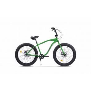 Bicicleta Fatbike unisex Pegas Cutezator EV 3 viteze 2017 Verde Smarald