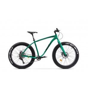 Bicicleta Fatbike unisex Pegas Suprem FX 19 inch Verde Smarald