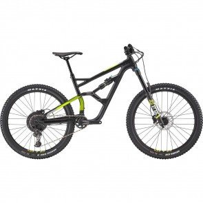 Bicicleta full suspension pentru barbati Cannondale Jekyll 3 27.5 M Negru/Verde 2019