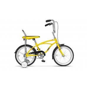 Bicicleta pentru copii Pegas Mezin 2017 B 1 viteza Galben Bondar