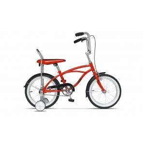 Bicicleta pentru copii Pegas Mezin 2017 B 1 viteza Rosu Bomboana