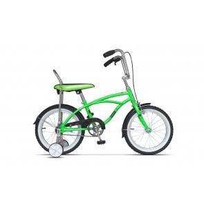 Bicicleta pentru copii Pegas Mezin 2017 B 1 viteza Verde Neon