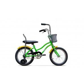 Bicicleta pentru copii Pegas Mezin F 16 inch 1 viteza Verde Oac Oac