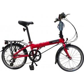 Bicicleta pliabila Dahon Mariner D8 Rosu