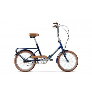 Bicicleta pliabila unisex Pegas Practic Albastru Calator