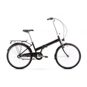 Bicicleta pliabila Unisex Romet Jubilat 3 Negru 2019