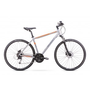 Bicicleta de trekking/oras pentru Barbati Romet ORKAN 4 M Gri 2018