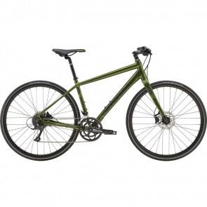 Bicicleta urbana pentru barbati Cannondale Quick 3 Verde Vulcan 2019