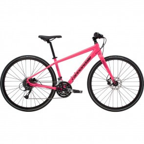 Bicicleta urbana pentru femei Cannondale Quick 4 Roz 2019