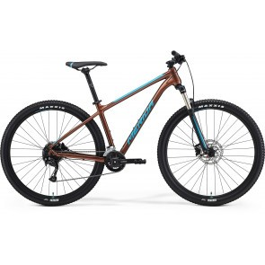 Bicicleta de munte pentru barbati Merida Big.Nine 100-2X Bronz/Albastru 2021