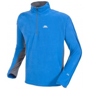 Bluza polar barbati Trespass Tron Electric Blue