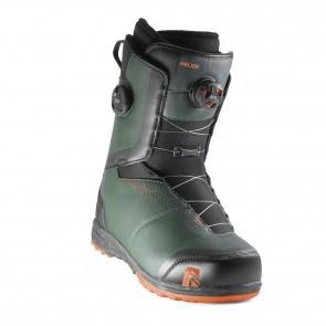 Boots snowboard barbati Nidecker Helios Focus Boa Forest Negru 2020