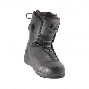 Boots snowboard femei Nidecker Lunar Hybrid Boa Gri Inchis 2020