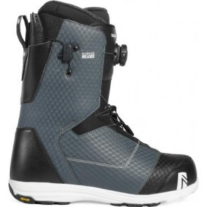 Boots snowboard Barbati Nidecker Tracer H-Lock Boa Coiler Slate 2019