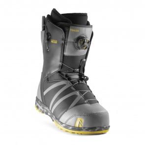 Boots snowboard barbati Nidecker Tracer H-Lock Boa Coiler Gri Inchis 2020