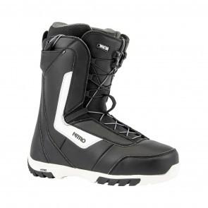 Boots snowboard barbati Nitro Sentinel TLS Negru/Alb 19/20