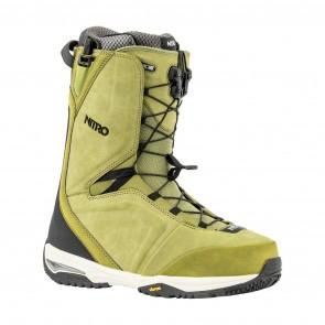 Boots snowboard barbati Nitro Team TLS Verde 19/20