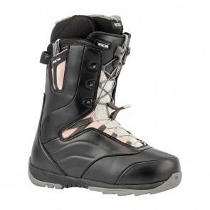 Boots snowboard femei Nitro Crown TLS Negru/Roz 19/20
