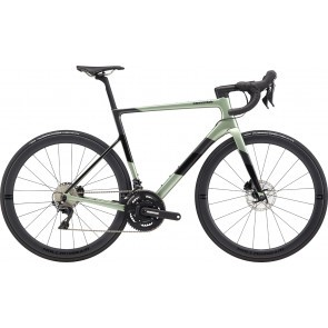 Bicicleta de sosea Cannondale SuperSix EVO HI-MOD Disc Dura Ace Verde agave 2020