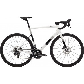 Bicicleta de sosea Cannondale SuperSix EVO Carbon Disc Force eTap AXS Alb/Negru 2020