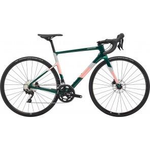 Bicicleta de sosea pentru femei Cannondale SuperSix EVO Carbon Disc 105 Verde 2020
