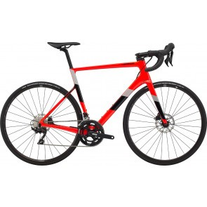 Bicicleta de sosea Cannondale SuperSix EVO Carbon Disc 105 Rosu Acid 2020