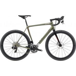 Bicicleta de sosea Cannondale Synapse Hi-MOD Red eTap AXS Verde Khaki 2020