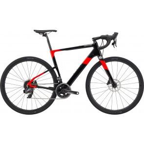 Bicicleta de gravel Cannondale Topstone Carbon Force eTap AXS Negru/Rosu 2020