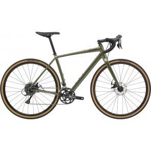 Bicicleta de sosea Cannondale Topstone Sora Verde Khaki 2020