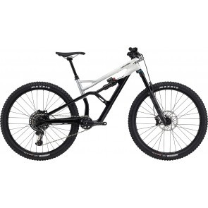 Bicicleta full suspension Cannondale Jekyll Carbon 29 2 Alb/Negru 2020