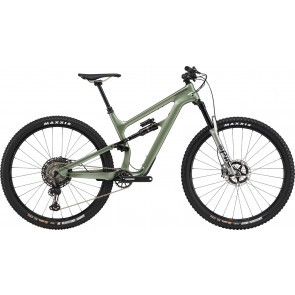 Bicicleta full suspension Cannondale Habit Carbon 1 Verde agave 2020