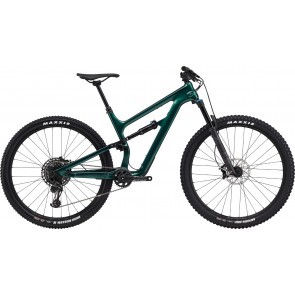 Bicicleta full suspension Cannondale Habit Carbon 3 Verde smarald 2020