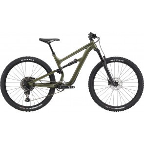 Bicicleta full suspension Cannondale Habit 5 Verde Khaki 2020