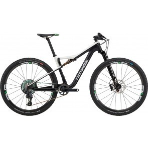 Bicicleta full suspension Cannondale Scalpel Si Hi-MOD World Cup Negru/Alb 2020