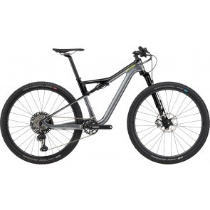 Bicicleta full suspension Cannondale Scalpel Si Carbon 2 Gri metalizat 2020