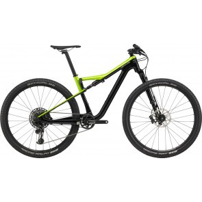 Bicicleta full suspension Cannondale Scalpel Si Carbon 4 Verde/Negru 2020