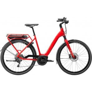Bicicleta electrica pentru femei Cannondale Mavaro Active City Rosu Acid 2020
