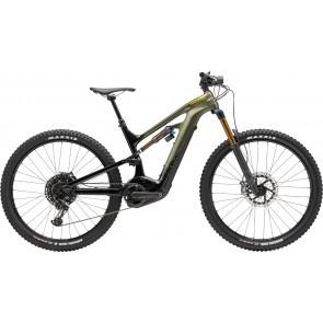 Bicicleta electrica Cannondale Moterra 1 Verde Khaki 2020