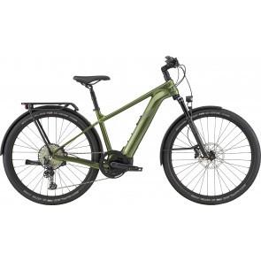 Bicicleta electrica Cannondale Tesoro Neo X 1 Verde Khaki 2020