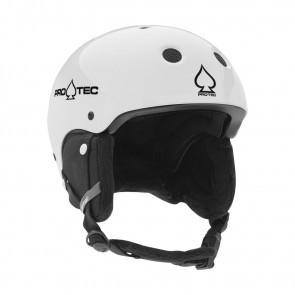 Casca schi/snowboard copii Pro-Tec JR. Classic Certified Snow Alb