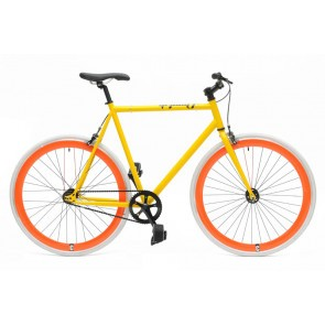 Bicicleta Cheetah Yellow Orange