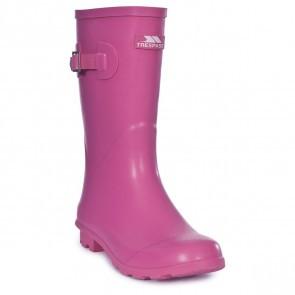 Cizme cauciuc femei Trespass Wells Pink