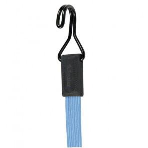 Coarda elastica prindere carlig MasterLock 30cm x 18mm Smooth bungee Bleu