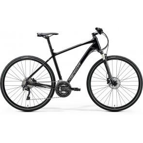 Bicicleta de trekking/oras barbati Merida Crossway XT-Edition Negru/Argintiu 2020