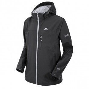 Jacheta softshell barbati Trespass Stanford Black
