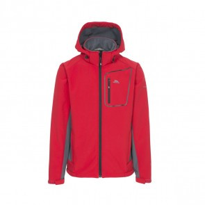 Jacheta softshell barbati Trespass Strathy II Red