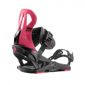 Legaturi snowboard femei Now Brigada Negru/Rosu 2020