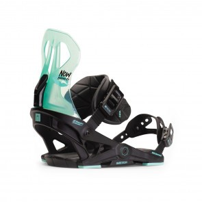 Legaturi snowboard femei Now Brigada Negru/Turcoaz 2020
